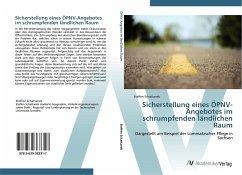 Sicherstellung eines ÖPNV-Angebotes im schrumpfenden ländlichen Raum