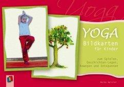 Yoga-Bildkarten für Kinder zum Spielen, Geschichten-Legen, Bewegen und Entspannen - Geisler, Heike