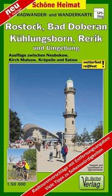 Doktor Barthel Karte Hansestadt Rostock, Kühlungsborn, Bad Doberan, Rerik und Umgebung