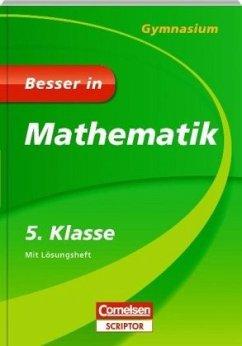 Besser in Mathematik - Gymnasium 5. Klasse - Cornelsen Scriptor - Kammermeyer, Fritz; Zerpies, Roland