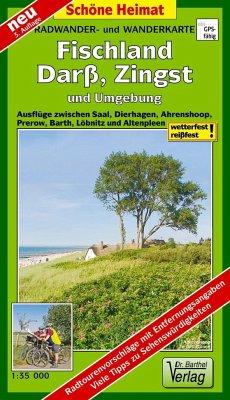 Doktor Barthel Karte Fischland, Darß, Zingst und Umgebung