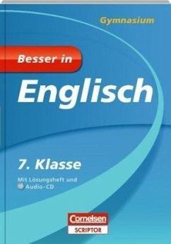 Besser in Englisch - Gymnasium 7. Klasse - Cornelsen Scriptor - Werner, Eva