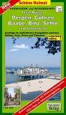 Doktor Barthel Karte Insel Rügen, Bergen, Göhren, Baabe, Binz, Sellin und Umgebung