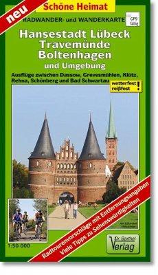 Doktor Barthel Karte Hansestadt Lübeck, Travemünde, Boltenhagen und Umgebung