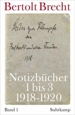 Notizbücher 1 bis 3 (1918-1920) / Notizbücher Volume II - Brecht, Bertolt