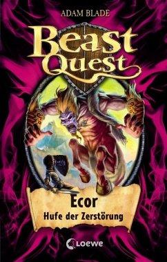 Ecor, Hufe der Zerstörung / Beast Quest Bd.20 - Blade, Adam