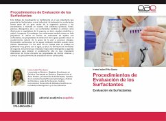 Procedimientos de Evaluación de los Surfactantes