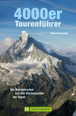 4000er Tourenführer - Goedeke, Richard