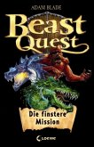 Die finstere Mission / Beast Quest Bd.1-3 (mit Audio-CD)