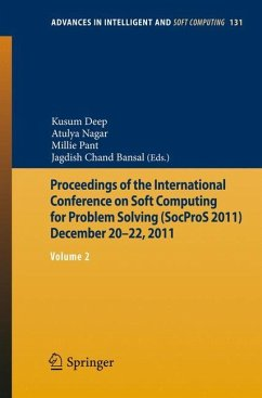 Proceedings of the International Conference on Soft Computing for Problem Solving (SocProS 2011) December 20-22, 2011