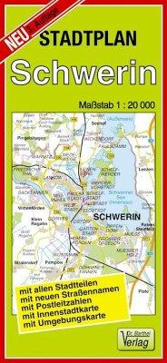 Doktor Barthel Stadtplan Schwerin