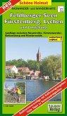 Doktor Barthel Karte Feldberger Seen, Fürstenberg, Lychen und Umgebung