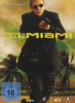 CSI: Miami - Season 9.1 (3 Discs)