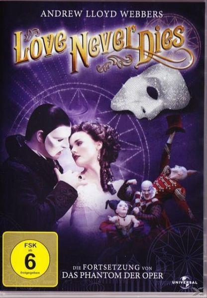 Andrew Lloyd Webber's Love Never Dies (OmU) - Lewis,Ben/O'Byrne,Anna/Mercedes,Maria