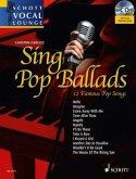 Sing Pop Ballads, Gesang und Klavier, m. MP3-CD