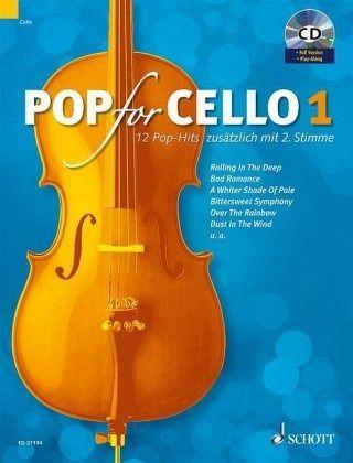 Pop For Cello, für 1-2 Violoncelli, m. Audio-CD