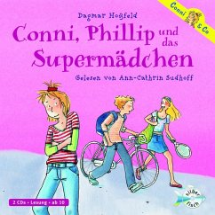 Conni, Phillip und das Supermädchen / Conni & Co Bd.7 (2 Audio-CDs) - Hoßfeld, Dagmar
