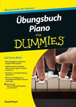 bungsbuch Piano für Dummies, m. Audio-CD