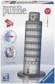 Ravensburger 12557 - Schiefer Turm von Pisa, 3D Puzzle-Bauwerke, 216 Teile