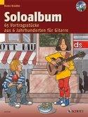 Soloalbum, für Gitarre, m. Audio-CD