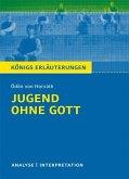 Jugend ohne Gott von Ödön von Horváth. Textanalyse und Interpretation