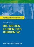 Die neuen Leiden des jungen W. von Ulrich Plenzdorf. Textanalyse und Interpretation