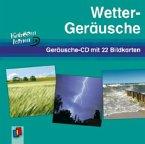 Wetter-Geräusche, Geräusche-CD m. 22 Bildkarten