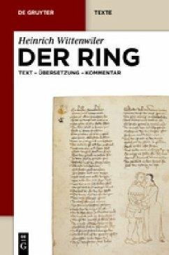 Der Ring - Wittenwiler, Heinrich