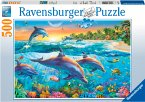 Ravensburger 14210 - Bucht der Delfine, Puzzle, 500 Teile