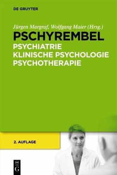 Pschyrembel Psychiatrie, Klinische Psychologie,...