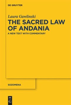The Sacred Law of Andania - Gawlinski, Laura