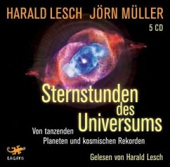 Sternstunden des Universums, 5 Audio-CDs - Lesch, Harald; Müller, Jörn