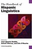 Handbook of Hispanic Linguistics