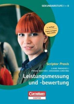 Leistungsmessung und -bewertung - Paradies, Liane; Wester, Franz; Greving, Johannes