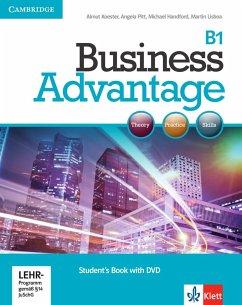 Business Advantage B1. Intermediate. Personal Study Book with DVD