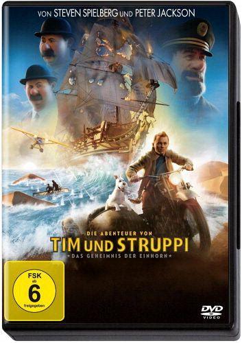 Die Abenteuer von Tim und Struppi: Das Geheimnis der Einhorn (DVD)