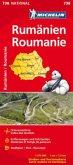 Michelin Karte Rumänien; Roumanie
