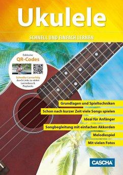 Ukulele, m. Audio-CD + DVD