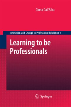 Learning to be Professionals - Dall 'Alba, Gloria
