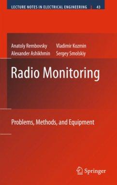 Radio Monitoring - Rembovsky, Anatoly; Ashikhmin, Alexander; Kozmin, Vladimir; Smolskiy, Sergey M.