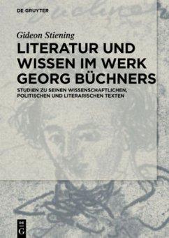Literatur und Wissen in Büchners Werk