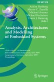 Analysis, Architectures and Modelling of Embedded Systems