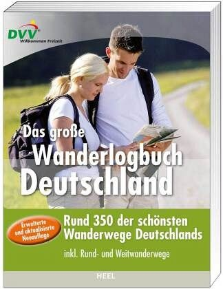 das gro e wanderlogbuch deutschland buch b. Black Bedroom Furniture Sets. Home Design Ideas