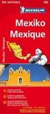 Michelin Karte Mexiko; Mexique