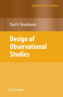 Design of Observational Studies - Rosenbaum, Paul R.