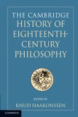 The Cambridge History of Eighteenth-Century Philosophy, 2 Volume Set