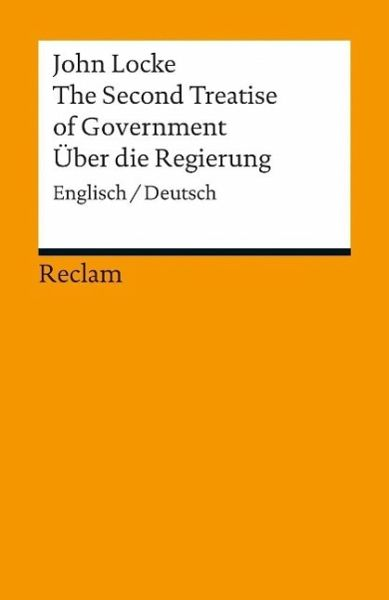 Second treatise of government thesis