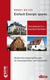 Einfach Energiesparen: Freistehende Ein- und Zweifamilienhäuser