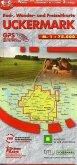 Uckermark, Rad-, Wander- und Freizeitkarte