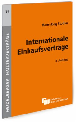 Internationale Einkaufsverträge - Stadler, Hans-Jörg